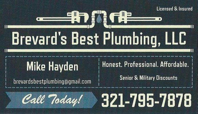 Brevard's Best Plumbing LLC
