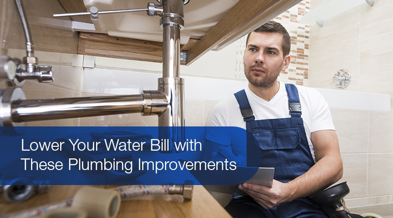 Lower Your Water Bill with These Plumbing Improvements