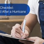 Plumbing Checklist Before and After a Hurricane